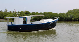 NM28 Multi Day Fishing Boat MK3