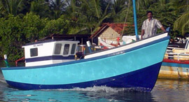 NM28 Multi Day Fishing Boat MK2
