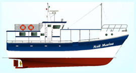 NMDF 54 MK3 Multi Day Long line Fishing Vessel