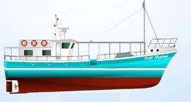 NMDF 65 Multi Purpose Fishing Boat