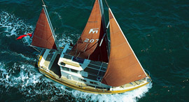 Fisher 25 Motor Sailer