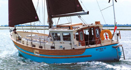 Fisher 34 Motor Sailor