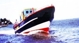 NMDF 43 Multi Day Fishing Boat